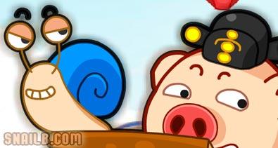Snail Bob Race Game