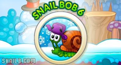 Play Snail Bob 6 Winter Story Game